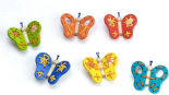 Wooden Large Wooden Lacing Butterfly Class - Set 6